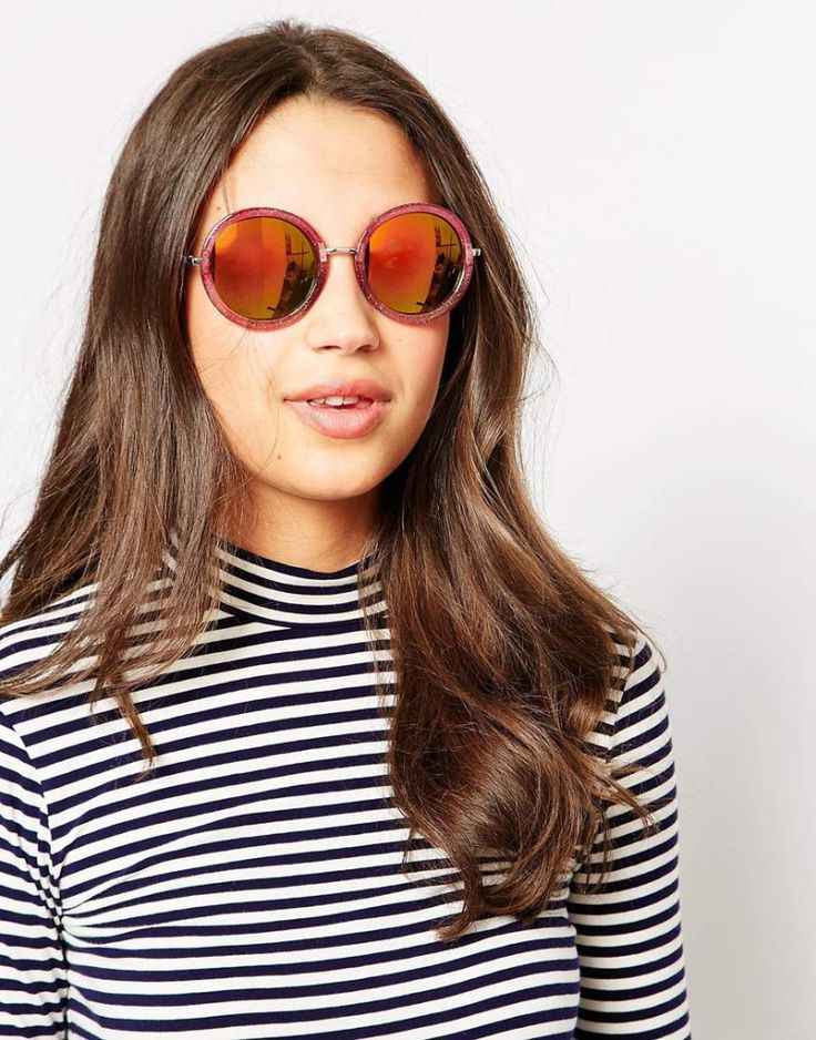 Round glitter sunglasses, Trip, $17. Buy it here: http://justbestylish.com/10-best-sunglasses-you-shouldnt-miss/10/