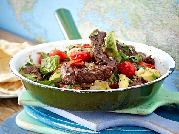 Schnell und lecker - Rezepte aus der Express-Küche - steakpfanne  Rezept