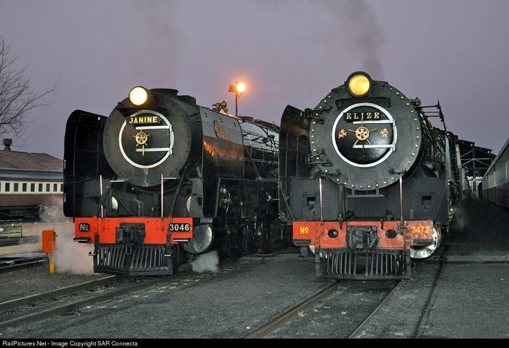 RailPictures.Net Photo: SAR No. 3046 / 3472 Reefsteamers Association SAR Class 15F / 25NC at Johannesburg, South Africa by SAR Connecta