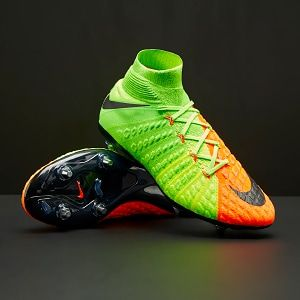 best service 8a752 ed4de Nike Hypervenom Phantom III DF SG - Electric Green Black Hyper Orange Volt