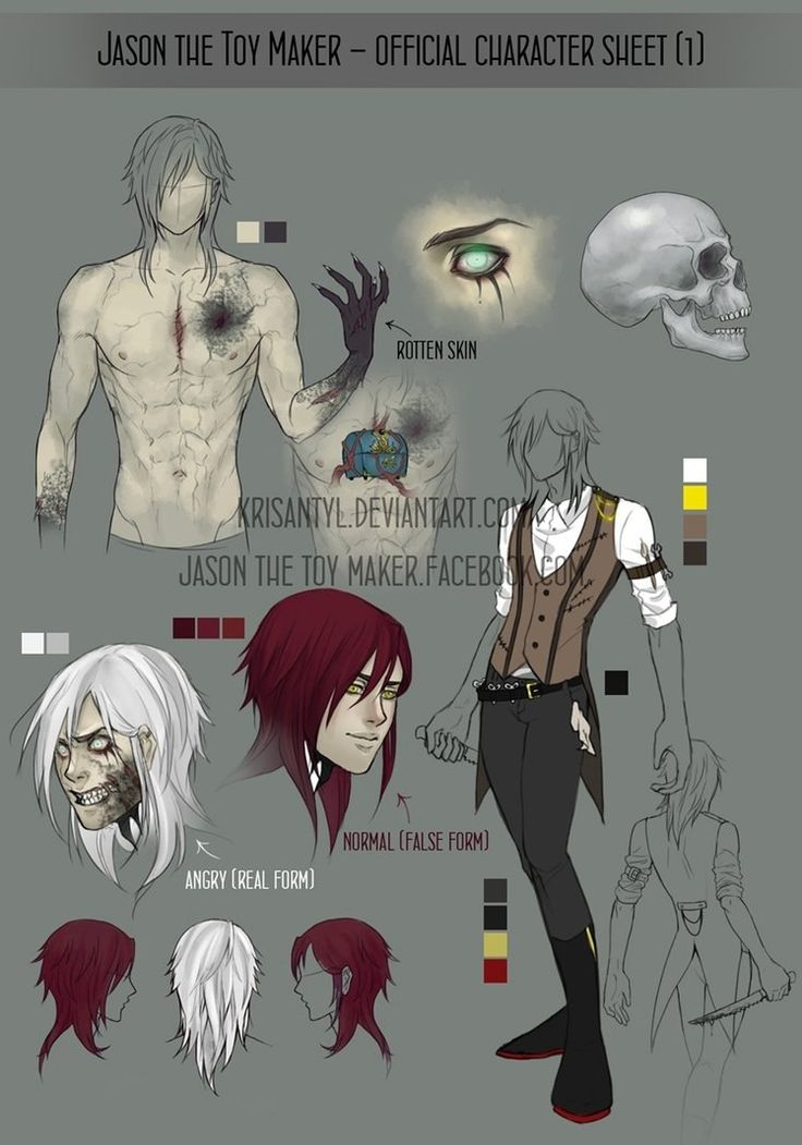 Jason the Toy Maker - official character sheet by Krisant ...
