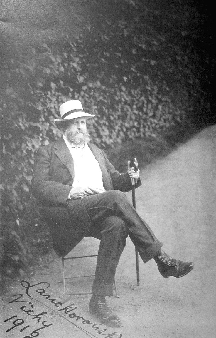 Count Karol Lanckoroński, 1912
