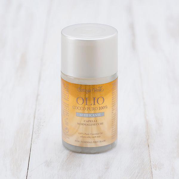 Olio Cocco puro 100% - setificante  - capelli normali/secchi (100 ml)