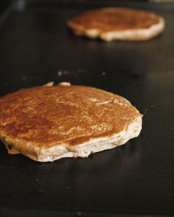 Gluten Free Banana Oatmeal Pancakes | didi's recipes | Pinterest