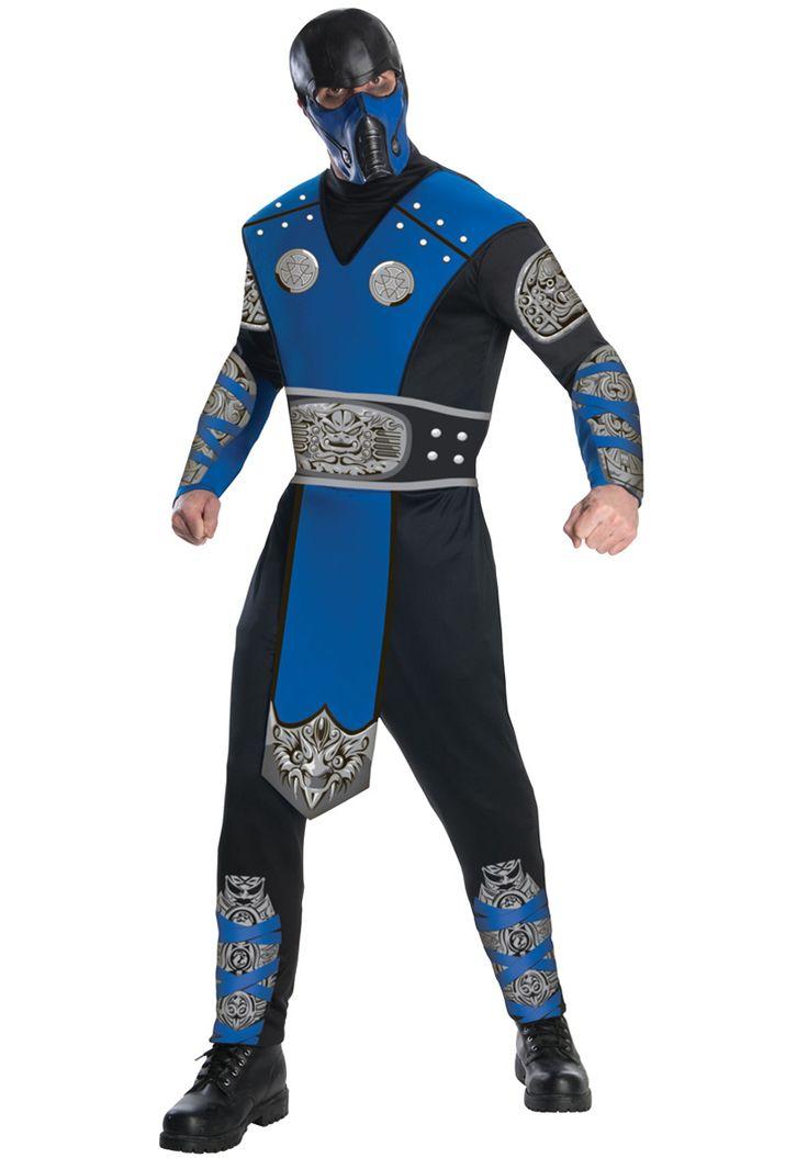 Mortal Kombat Sub-Zero Costume, Mortal Kombat Fancy Dress - Superhero Costumes at Escapade