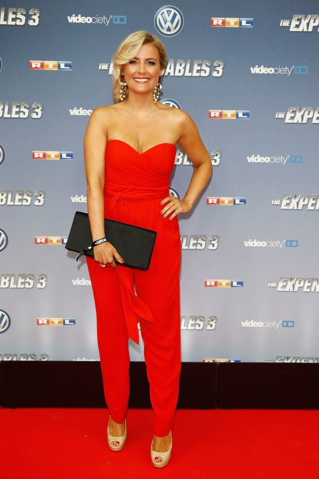 "Jennifer Knaeble At The German Premiere Of ""The Expendables 3"""
