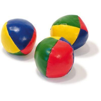VILAC - 3 Balles de jonglage. Idéal pour s'initier au jonglage ou pour faire de vraies démonstrations. Diamètre : environ 6 cm. … Voir Présentation