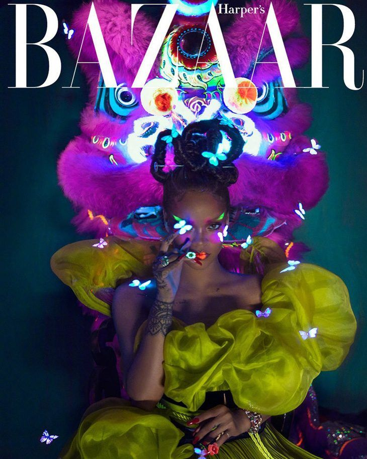 Rihanna is the Cover Star of Harper's Bazaar China August 2019 Issue