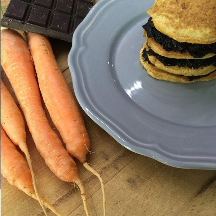 Pancake Paleo alle carote | Paleo Sisters