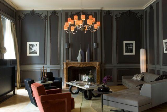 Vivre à Paris, c'est ça le chic haussmannien ! | Mademoiselle Cécile - Design, Décoration, Architecture