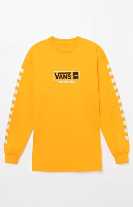 Yellow vans sweater, PACSUN