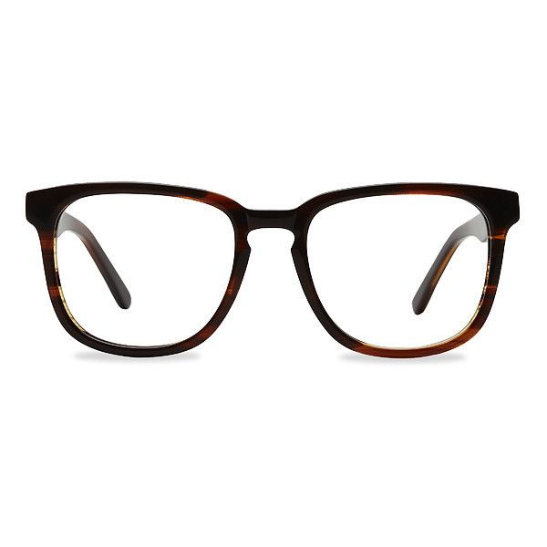 Men's Sail - Brown square - 16423 Brown Rx Eyeglasses ($29) ❤ liked on Polyvore featuring men's fashion, men's accessories, men's eyewear, men's eyeglasses, mens eyeglasses and mens eyewear
