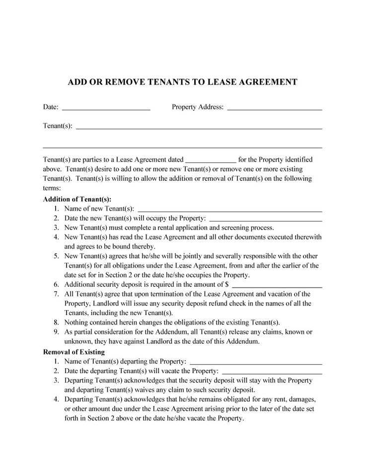 roommate agreement template 02 lease Pinterest Roommate - confidentiality agreement pdf
