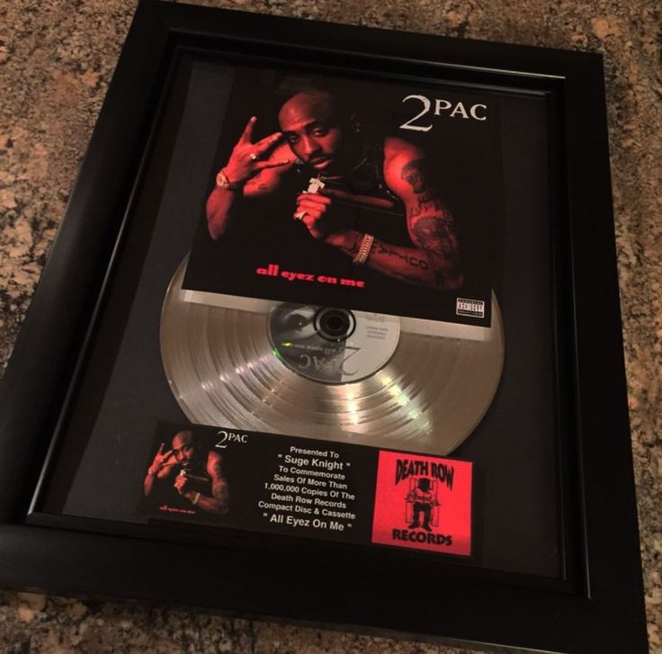 """2PAC ALL EYES ON ME  0gz: """"DEATH ROW RECORDS """""""