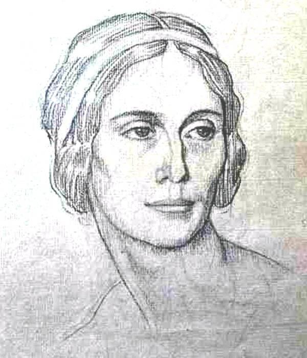 Леон Бакст. Портрет балерины Анны Павловой.