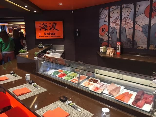 Restaurante japones en el emsc Meraviglia