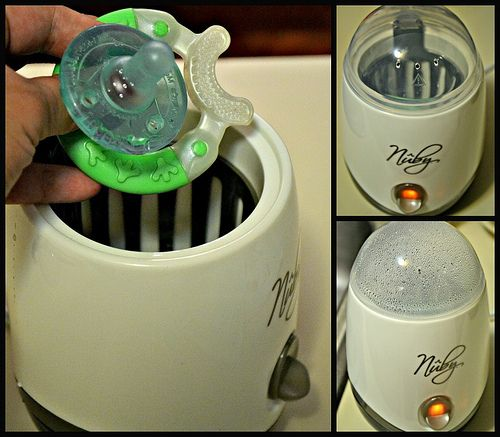 Nûby™ One-Touch Electric Sterilizer Review / Giveaway