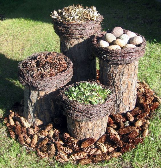 Dekor aus Zweigen: Ideen für die Winterkreativit…