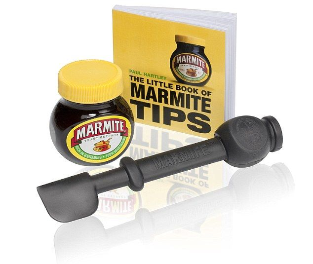 Marmite launches special knife for reaching sticky morsels at bottom of jar