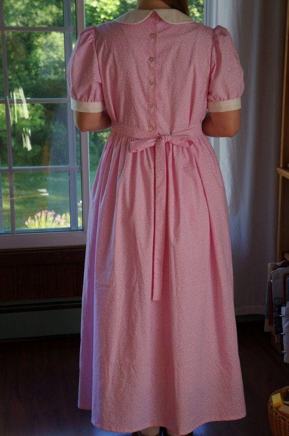 Pulsante Back Dress W/soffiato maniche Ladies'  su misura
