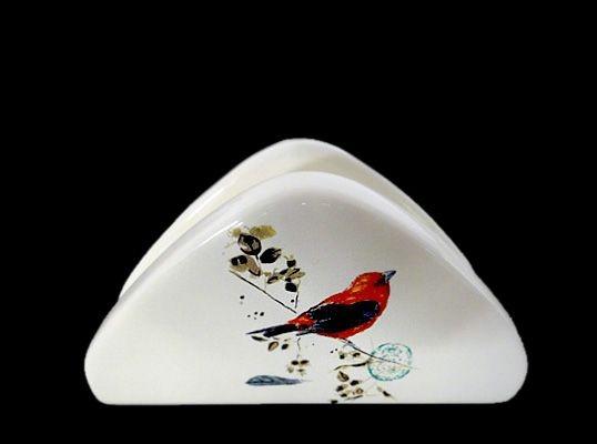 Kuş Desenli Peçetelik