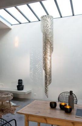 """Lampy - Le Labo Design - """"Lustre Spirale Bubble"""""""