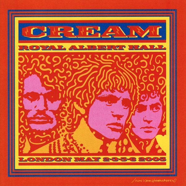 Cream royal albert hall albums 45 39 s cover art for Door 6 royal albert hall