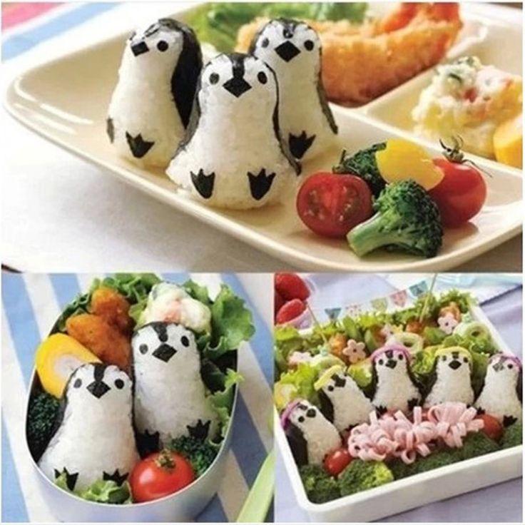 Plastic Penguin Sushi Mold maker