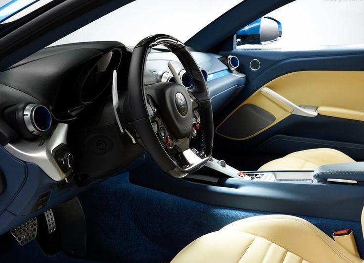 The Touring Ferrari F12 Berlinetta Lusso 2015 Interior