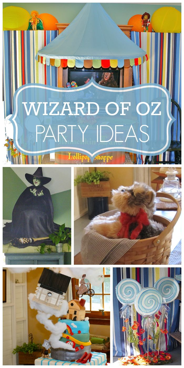 What a fun baby shower with a Wizard of Oz party theme and a gorgeous cake and decor!  See more party ideas at CatchMyParty.com!