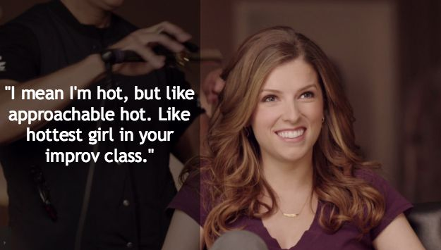 But this is definitely the funniest quote. | Anna Kendrick's New Superbowl Commercial Is Freaking Hilarious
