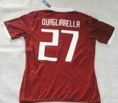 Torino 2015-16 Season Quagliarella #27 Home Soccer Jersey [C487]