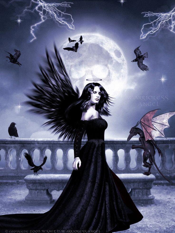 картинки ангелов тьмы существовании
