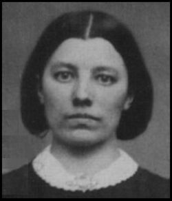 Caroline Ingalls, Laura's mother. At sixteen, she started as a teacher, but married Charles Ingalls in February of 1860 ending her career. She followed her husband through numerous moves and before she extracted a promise from her husband that their next move would be their last. The family settled in Dakota Territory on Silver Lake outside what would be the town De Smet, SD.