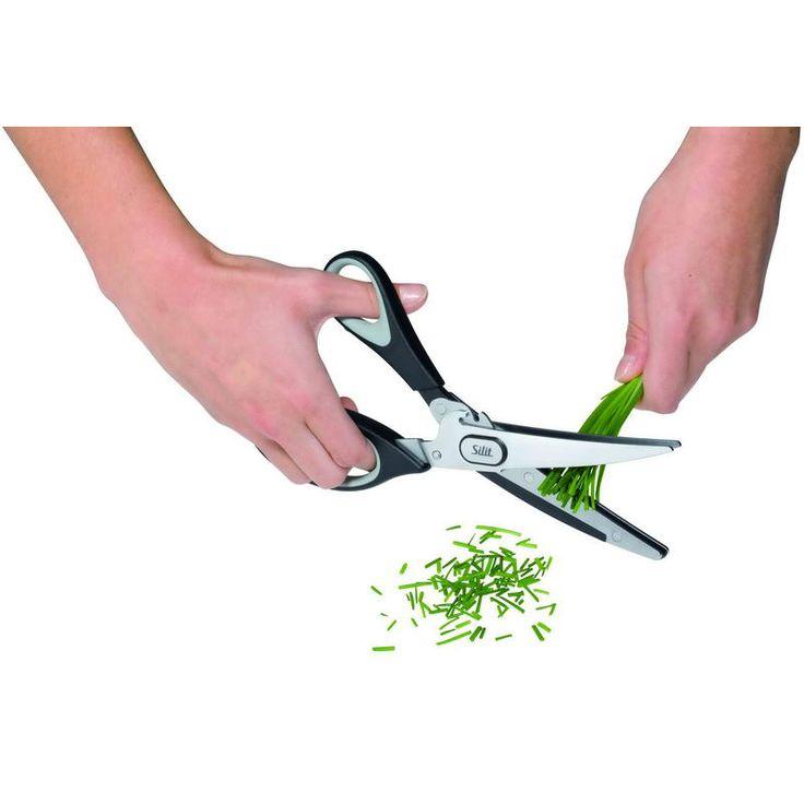 Nożyczki do cięcia ziół od SILIT. #decosalon #design #dizajn #kuhnia #kitchen #akcesoria #accessories #nożyce #scissors #wiosna #spring #zioła #herbs www.decosalon.pl