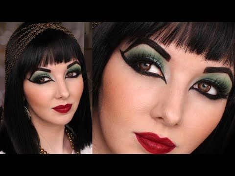 ▶ Historically Accurate: Ancient Egypt / Cleopatra Makeup Tutorial - YouTube