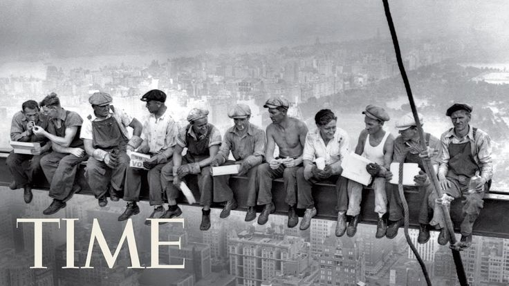 Lunch Atop A Skyscraper: The Story Behind The 1932 Photo | 100 Photos | ...
