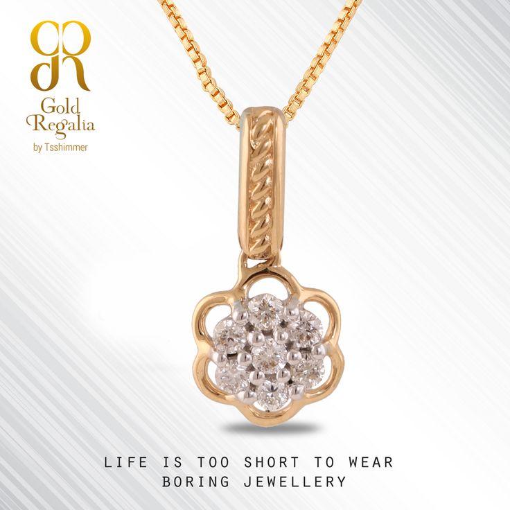 Life is too short to wear boring #jewellery..!  Find #LatestJewellery: http://goo.gl/QsQ0y5 #JewelleryDesign #Pendants #WomensJewelry