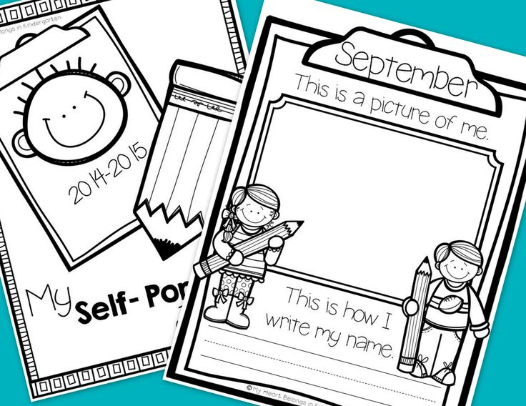 Month-by-month self portraits and handwriting samples are a great way to monitor student growth. Plus, they are perfect to share at parent-teacher conferences or to include in memory books!   This set includes monthly self-portrait pages plus pages for the first/last days of school. Simply have your students draw a picture of themselves and write their name each month throughout the school year. Choose a cover to add to your year-long collection and create a keepsake parents will love.