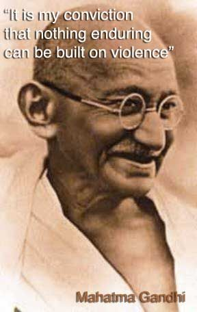gandhi quotes | The following are some of his quoted words. Read. Reflect. Learn.