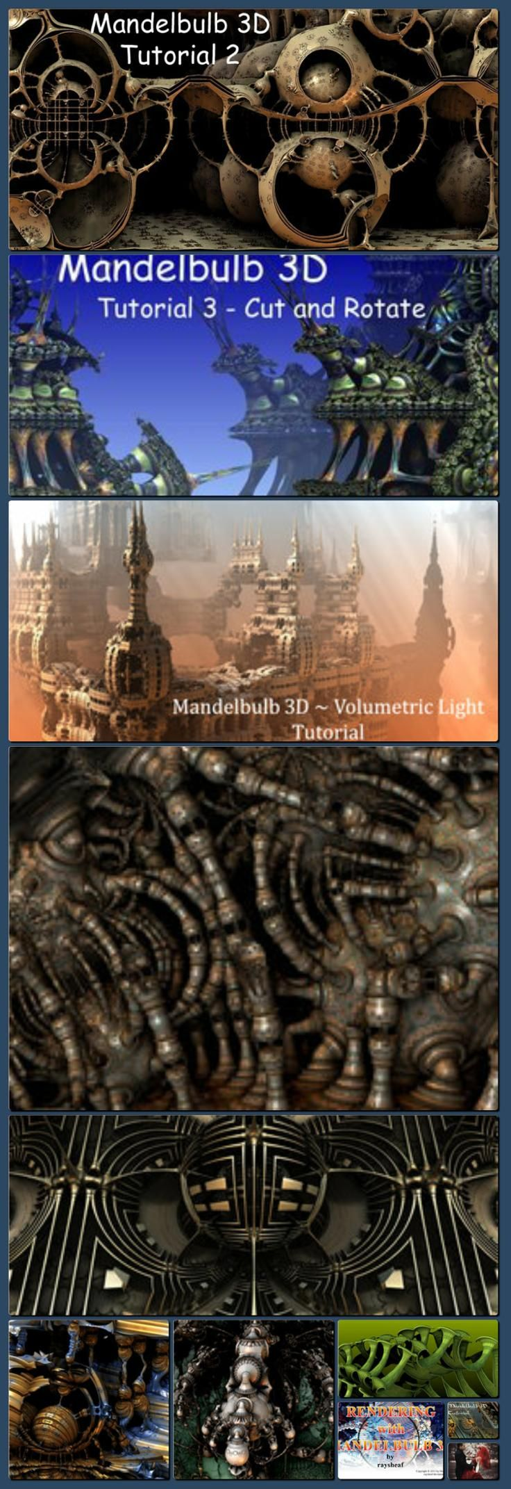 Mandelbulb 3D Tutorial 2 by HalTenny on deviantART [Collage made with one click using http://pagecollage.com] #pagecollage http://hoog.li/g?g=http%3A%2F%2Fhaltenny.deviantart.com%2Fart%2FMandelbulb-3D-Tutorial-2-192449982