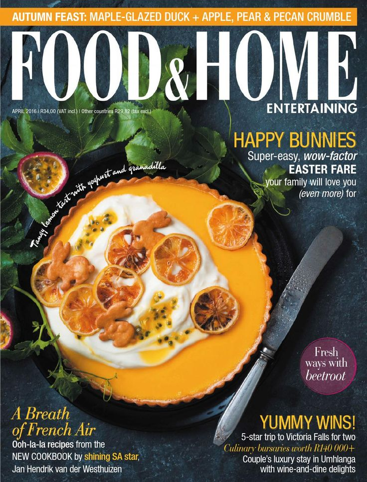 Food Home Entertaining April 2016