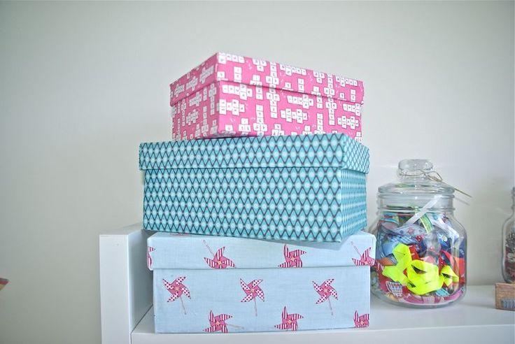 RéCréation 8 : DIY customiser des boites en carton