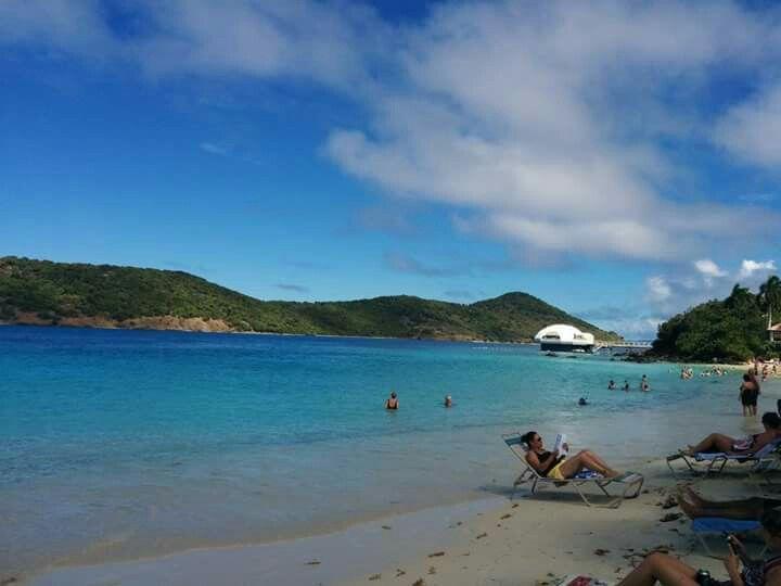 Coki Beach, St Thomas, USVI