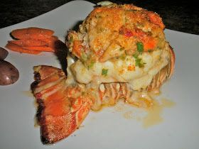 Crab stuffed lobster is one of the all time best selling Valentines Day and New Years Eve restaurant ...