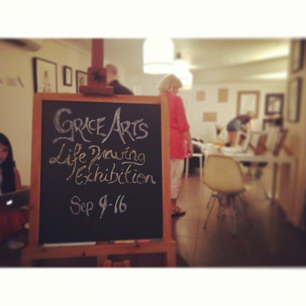 Grace Art Life Drawing Exhibition.