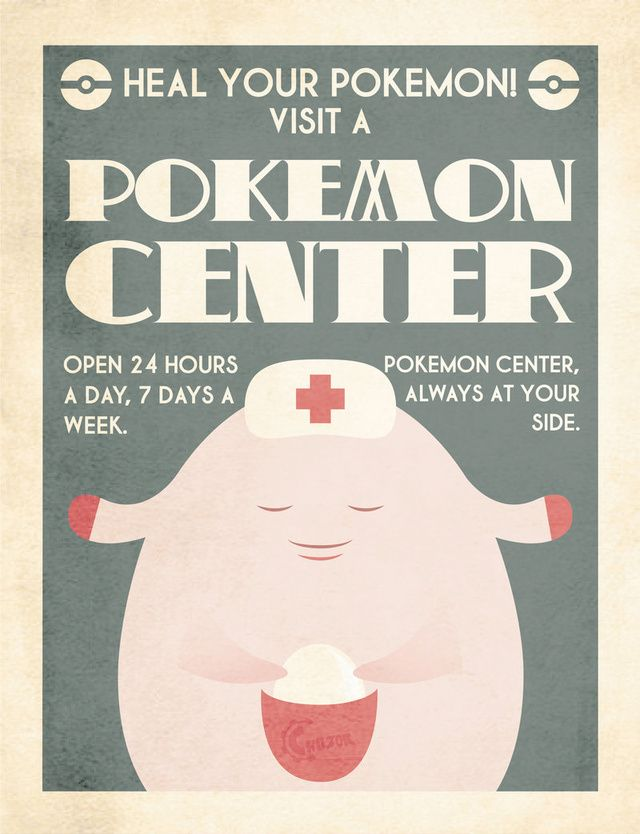 Retro Pokemon Ads Will Have You Visiting the Pokemart in No Time!