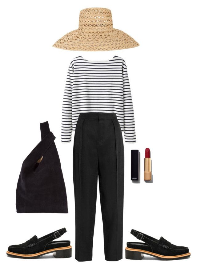 """Untitled #650"" by szudi on Polyvore featuring Wood Wood, Chloé, Samuji, Chanel, Dr. Martens and Hayward"
