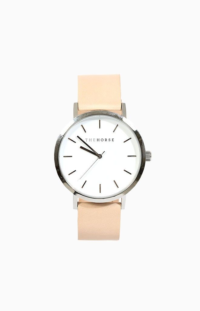 The Horse White Face Wrist Watch