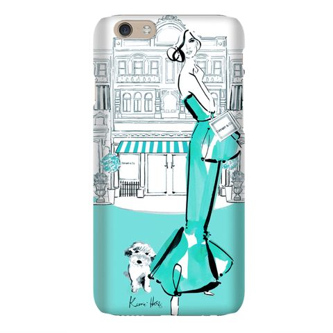 Tiffany Deux by Kerrie Hess iPhone 6 Case from The Dairy www.thedairy.com #TheDairy #PhoneCase #iPhone6 We're extremely excited to present our exclusive phone case collaboration with the talented Kerrie Hess Illustration. This boutique collection of iPhone & Samsung Galaxy cases are available now from www.thedairy.com Australian born artist Kerrie Hess has illustrated for CHANEL, Printemps Paris, Kate Spade New York, VOGUE and Net-a-Porter UK.